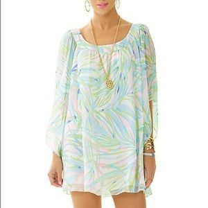 Lilly Pulitzer Marietta pastel caftan silk dress